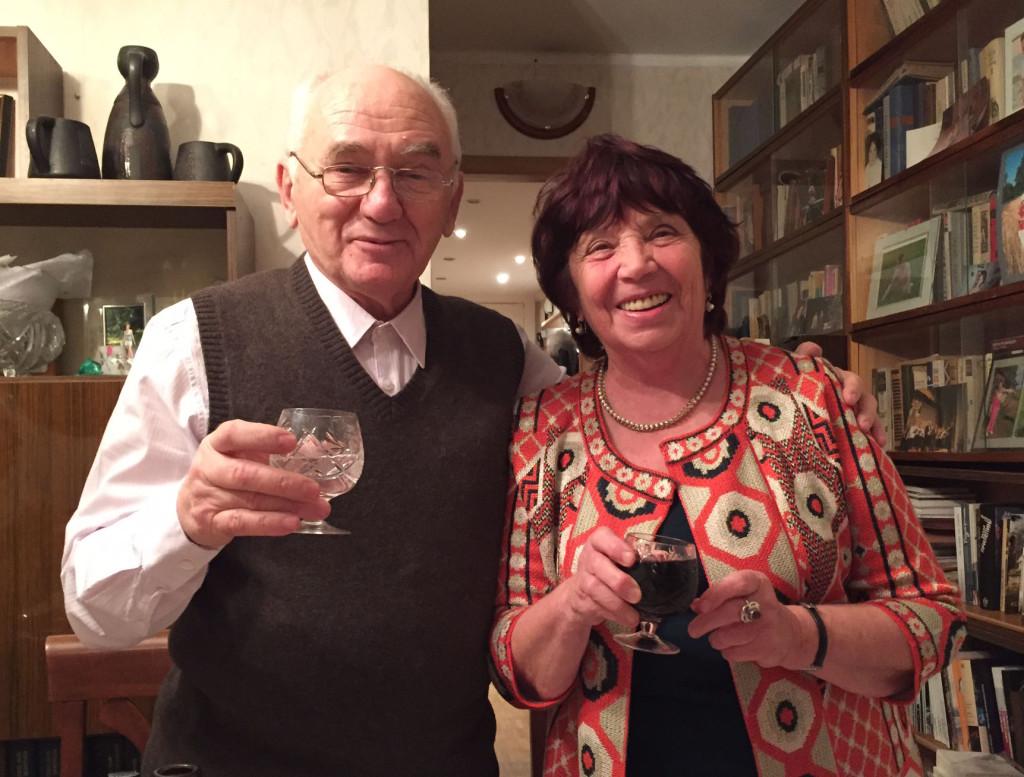 Марк Хацернов с супругой